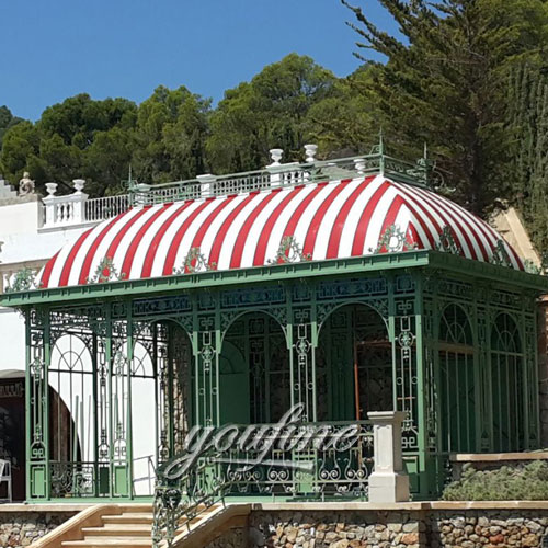 Outdoor large grand garden metal steel gazebo with best price