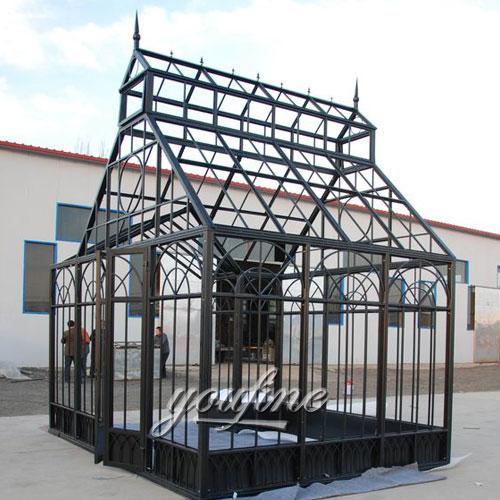 Hot selling Large outdoor metal 10x10 gazebo frame for garden