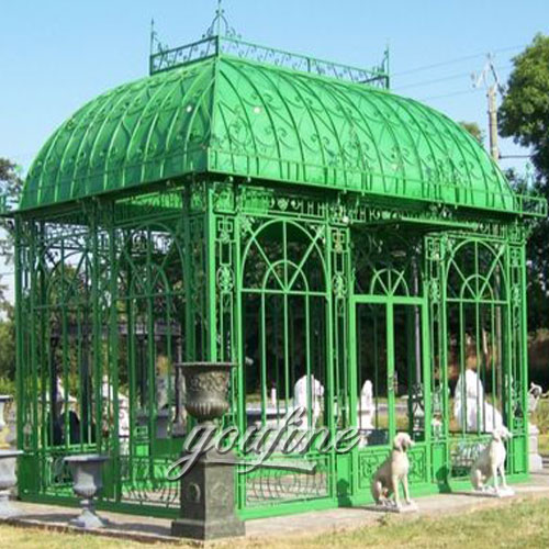 Large outdoor steel wrought iron 10x10 gazebo for sale Large outdoor steel wrought iron 10x10 gazebo for sale