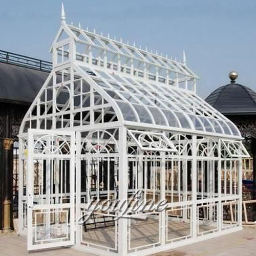Large outdoor steel wrought iron backyard white gazebo for sale