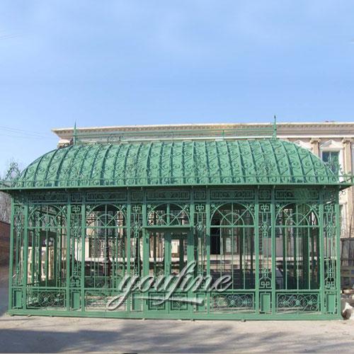 Buying large outdoor garden 12x18 metal steel roof gazebo with best price