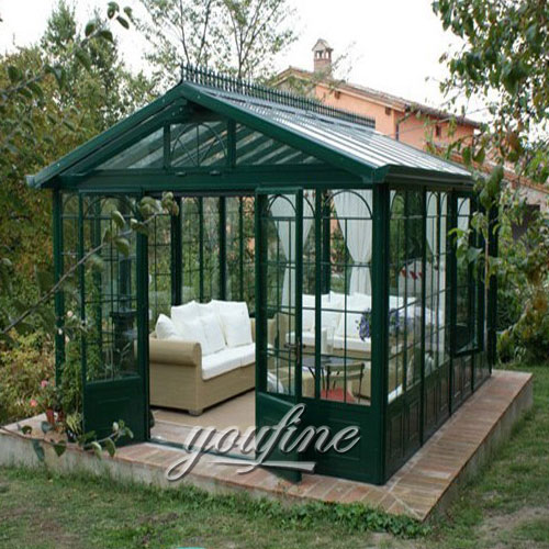 Outdoor large garden decor 9x9 metal top gazebo with best price