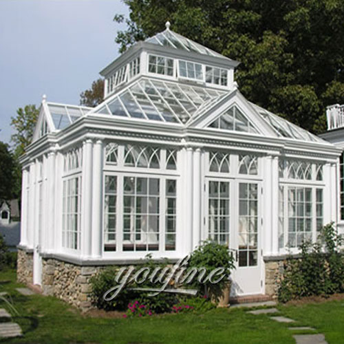 Outdoor large garden decor screened metal white gazebo with best price