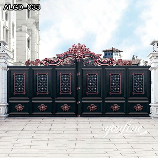 Custom Aluminium Gate Fabrication for Sale ALGD-033