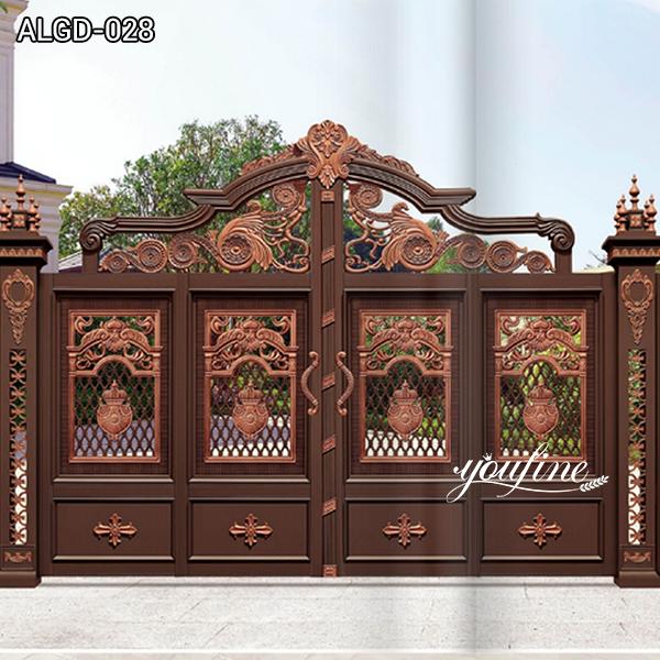 Delicate Aluminium Gate and Door Factory for Sale