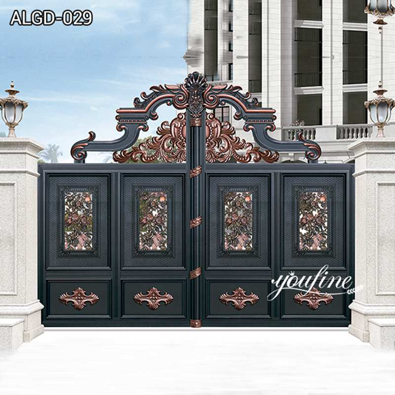 Luxury Style Aluminium Gate and Fence for Sale ALGD-029